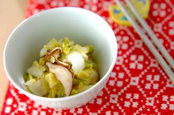 白菜のカラシ和え