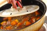 カボチャの煮物の作り方7