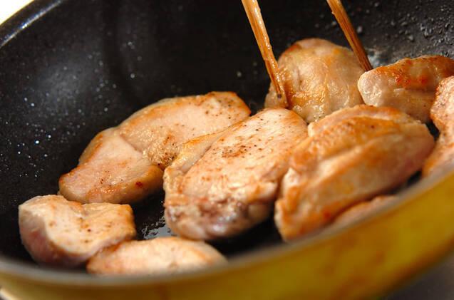 焼きチキンのマリネの作り方の手順8