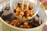 ヒジキとミックスビーンズの煮物の作り方7