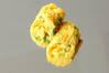 ネギ入り卵巻きの作り方の手順
