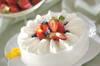 イチゴのショートケーキの作り方の手順