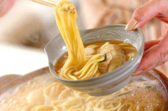 おうちでできる!味噌仕立ての絶品もつ鍋の作り方の手順4