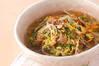 たっぷり豆モヤシのスープ煮の作り方の手順
