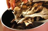 豚キノコ丼の作り方2