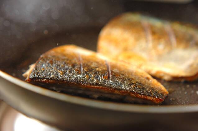 サバのローズマリーガーリックソテーの作り方の手順6
