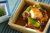 ゼンマイと厚揚げの煮物