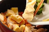 鶏むね肉のナッツ炒めの作り方2