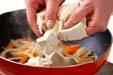 五目炒り豆腐の作り方2