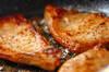 豚ロース肉のワインビネガー煮込みの作り方の手順4