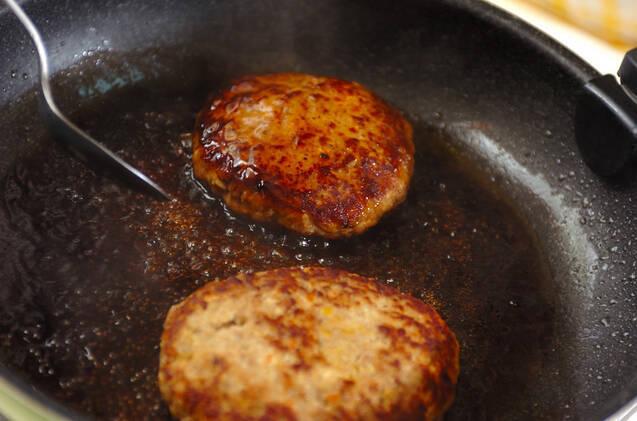 ふんわりやわらか!和風豆腐ハンバーグの作り方の手順9