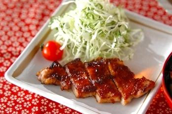 豚肉のみそ焼き