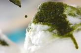 宇治金時かき氷の作り方3