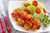 鶏肉のフレーク焼きの作り方の手順