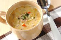 いろいろ野菜のミルクスープ