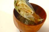 ザク切りキャベツのみそ汁の作り方2