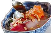 お刺身のせサラダの作り方7
