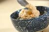 明太とろろのシラス丼の作り方の手順5