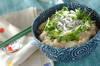明太とろろのシラス丼の作り方の手順