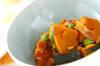 カボチャの甘煮の作り方の手順