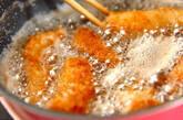 お手軽衣で白身魚の揚げ焼きの作り方6