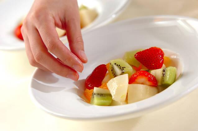 フルーツグラタンの作り方の手順2