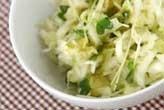 キャベツのユズ味サラダ
