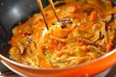 シイタケと大根の卵焼きの作り方7
