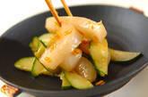 イカのピリ辛刺身の作り方5