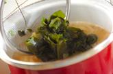 ジャガイモ入りみそ汁の作り方2