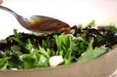 水菜と佃煮昆布の和風サラダの作り方3