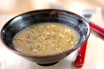レンコンスープ