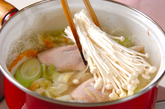 鶏肉とキャベツのスープ煮の作り方3