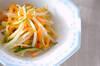 キュウリのサッと炒めの作り方の手順