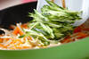 キュウリのサッと炒めの作り方の手順4