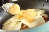 豚肉とジャガイモのペタンコ焼きの作り方2