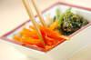 彩り野菜の和え物の作り方の手順6