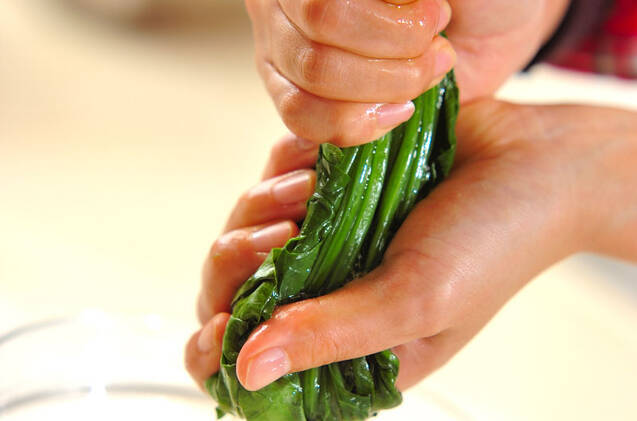 彩り野菜の和え物の作り方の手順2