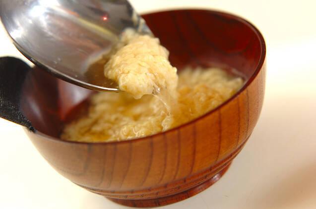長芋のふんわり汁の作り方の手順4