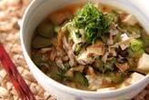 冷やしスープご飯