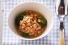 白インゲン豆の煮込みの作り方の手順
