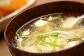 豆腐のとろりスープ
