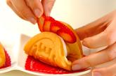 イチゴワッフルの作り方1