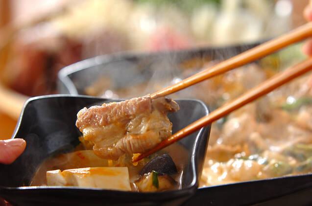 チゲみそ鍋の作り方の手順12