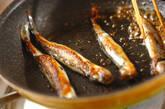 シシャモの甘酢焼きの作り方2