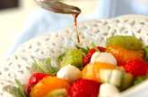 フルーツサラダの作り方1