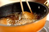 揚げ手羽の甘辛煮の作り方3