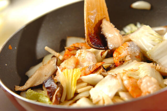 エビのチリソース煮の作り方の手順8