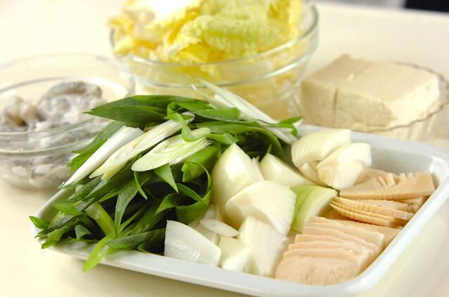 エビのチリソース煮の作り方の手順1