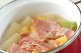 ネギのスープ煮の作り方1
